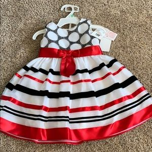 Formal dress with matching bloomers